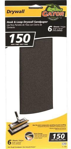 DRYWALL SANDPAPER 150 HOOK/LOOP