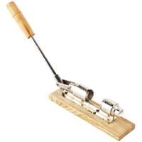 Pecan Nut Cracker with Wood Base and Grip