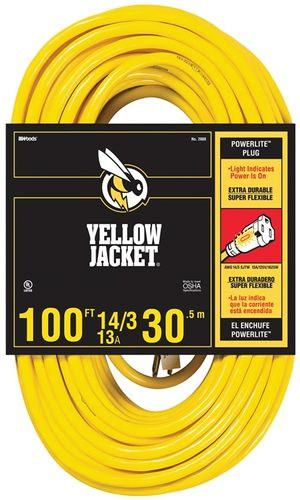 EXTENSION CORD 14/3 SJT X 100'