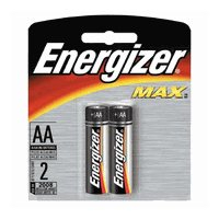 Energizer E91BP-2 AA Batteries (2-Pack)