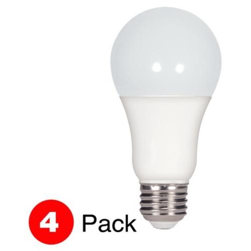 LAMP LED 15.5A19(100W)/27K/4PK