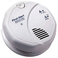 CO & SMOKE DETECTOR 9V BATTERY