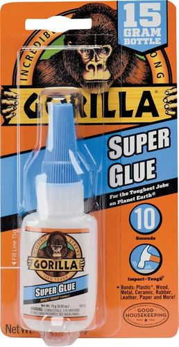 GORILLA SUPER GLUE  15gr BOTTLE