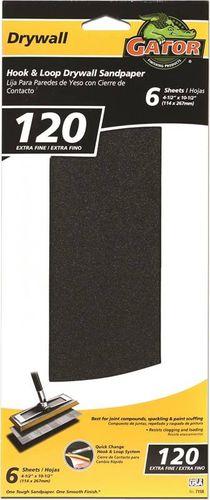 DRYWALL SANDPAPER 120 HOOK/LOOP