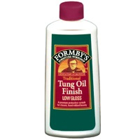 Formbys 30069 Low Gloss Tung Oil Finish, 8-Ounce