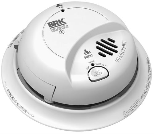 CO & SMOKE DETECTOR WIRE-IN W/9V