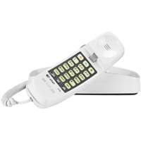 WHITE TRIMLINE TELEPHONE
