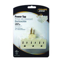 PZ 3- OUTLET SWIVEL POWER TAP