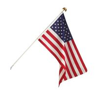 FLAG US WALL POLE KIT w/3'X5'