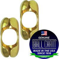 BALL CHAIN COUPLING 6-B BRASS