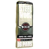 STEEL WOOL PAD #0000 SUPER FINE