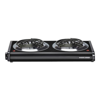 DOUBLE BURNER ELECT HOT PLATE