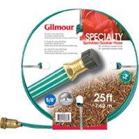 Gilmour 27141 3 Tube Sprinkler and Soaker Hose Flat 25-Feet, Green