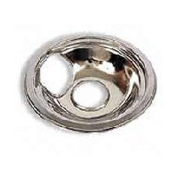 """Camco 00403 6"""" GE/Hotpoint Plug-In Chrome Drip Bowl"""