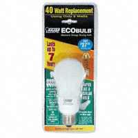 LAMP CFL 9W (40W) SW A-SHAPE