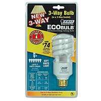 Feit BPESL30/100T 30-Watt/70-Watt/100-Watt ECOBulb CFL 3-Way Spiral Bulb