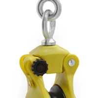 "Campbell CHB300 3"" Hand Line Utility Block with Latched Swivel Hook, 5/8"" Rope, 3"" Sheave"