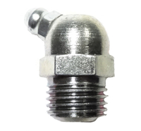 """GREASE FITTING 1/4""""MPT 65Degree"""