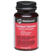 Dap 00107 3-Ounce Weldwood Contact Cement