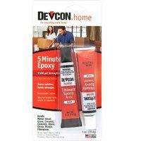 ITW Devcon S205 5-Minute Epoxy Glue, 2 of 1/2 oz Tubes