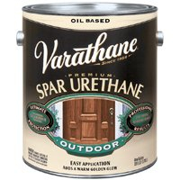 Rust-Oleum 9241H Varathane Exterior Satin Oil Polyurethane, 1 Gallon