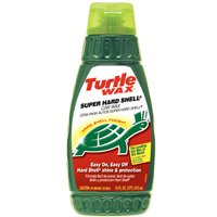 Turtle Wax T-123R Super Hard Shell Liquid Car Wax, 16 oz