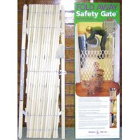 SAFETY GATE 5-FT WOOD