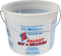 5QT MIXING PAIL PLASTIC