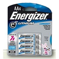 Energizer AA Lithium Batteries 4 count