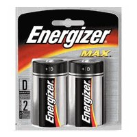 Energizer D-2 E95BP Alkaline Battery