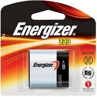 Energizer EL223APBP Professional Litium 223- 6V Battery (Black/Red)