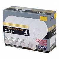 LAMP 25W 25A/CL/4-130 CLEAR 4/PK
