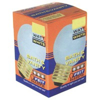 LAMP 25W 25G25/W-130 WHITE GLO