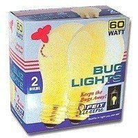 LAMP 60W 60A/Y/2-130 BUG 2/PK