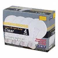 LAMP 75W 75A/CL/4-130 CLEAR 4/PK