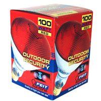 LAMP 100W 100PAR/R/1 RED FLOOD