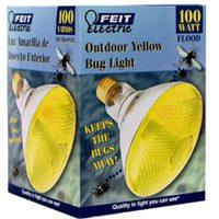 LAMP 100W 100PAR/BUG/1 YELLW FLD