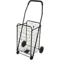 Mintrcaft TPG-G80033L Grocery Shopping Cart 88 lb Capacity