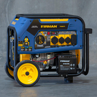 FIRMAN 8000w TRI-FUEL GENERATOR
