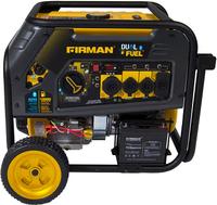 FIRMAN 8000w DUAL FUEL GENERATOR