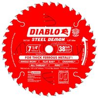 DIABLO 7-1/4 38 STEEL DEMON BLDE