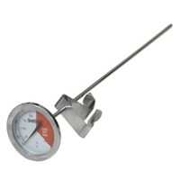 Bayou Classic 5025 Stainless Steel Thermometer, 12-Inch