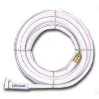 Gilmour 12 Series 5 Ply Marine & Recreation Hose 5/8 Inch x 50 Feet 12-58050 White w/Aqua Stripe