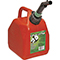GAS CAN 1GL RED PL 00001