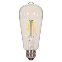 LAMP LED 6.5ST19(60W)/CL/E26/27K