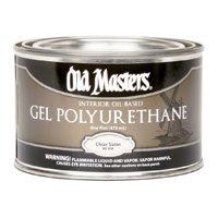 Old Masters Gel Polyurethane Thick Varnish Clear Satin, 1 Pint