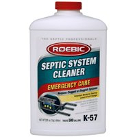 Roebic Laboratories K-57 Septic System Treatment, 32-Ounce