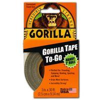 """DUCT TAPE BLACK 1""""x30' GORILLA"""