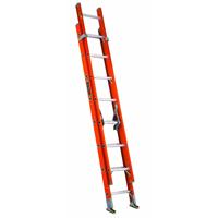 Louisville Ladder FE3220 Fiberglass Extension Ladder 300-Pound Capacity, 20-Feet