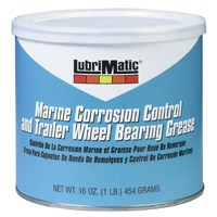Lubrimatic 11404 Marine Bearing Grease, Calcium Sulfonate Complex, 1-lb